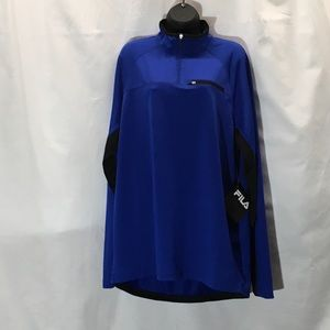 Women's Fila Pullover L Blue like new w/ tags